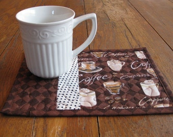 Coffee Lover's Mug Rugs