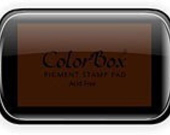 Color Box Ink Pad for Rubber Stamps, black ink pad, pigment ink pad