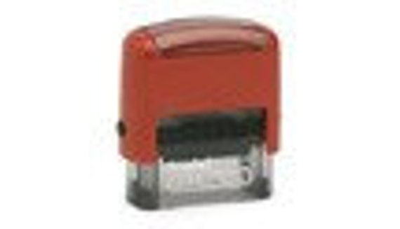 Custom Self-inking Personalized Clothing Stamp (great for kids going to camp)