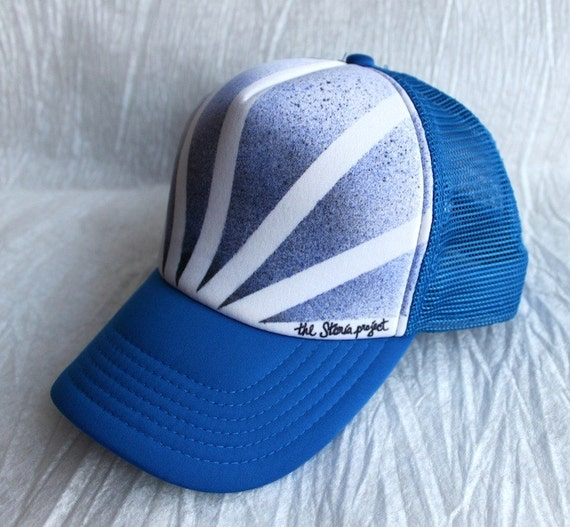Spray Series Royal Rays Trucker Hat