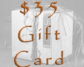 35 Dollar Gift Card