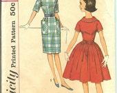 Vintage Simplicity 4114 Dress Pattern Sub-Teen Copyright 1960's