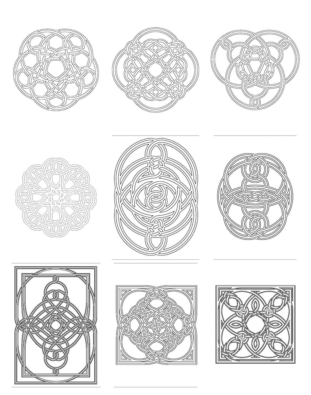 Celtic Knot Coloring Book 2 PDF