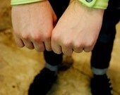 Wristband - Neon Green & Black