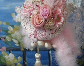 "Vintage Lace Bridal Victorian Flapper Handbag Purse ""Made To Order"""