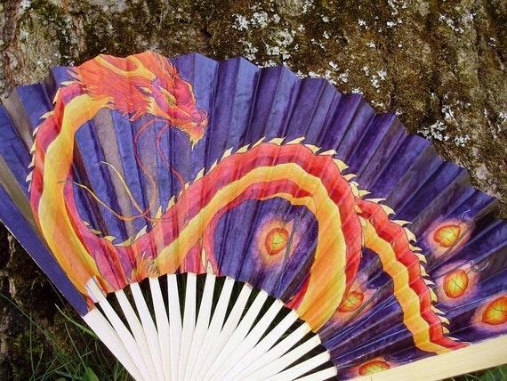 Spirit of the New Year - Paper Folding Fan