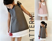 2T, 3T, 4T - The Everyday Dress - Downloadable PDF Pattern and Instructions