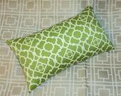 Mod Green Waverly Lattice Lumbar Pillow