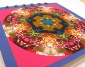 Notepad with Chihuly glass photographic mandala