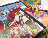 Candy Land game board notepad - functional childhood nostalgia
