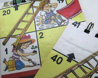 Chutes and Ladders game board notepad