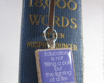 Bookmark (book mark only) for Scrabble tiles