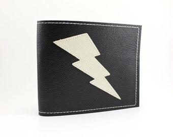 TCB Black and White Lightning Bolt Wallet - Takin' Care of Business
