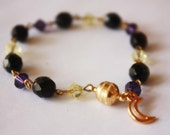 Luna - Czech Glass Swarovski Crystal Bracelet LAST ONE