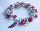 Skyward Princess - Princess Zelda Inspired Czech Glass Bracelet