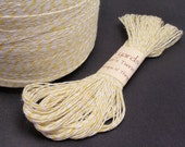 Yellow Bakers Twine 50 yards by Just Scraps N Things