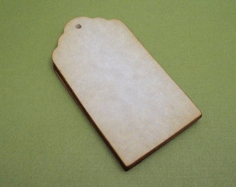 BLANK Aged tags - vintage style  -  set of 24 by Just Scraps N Things