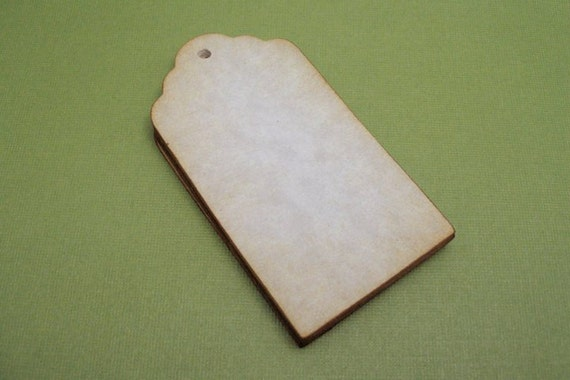 BLANK Aged tags - vintage style  -  set of 100 by Just Scraps N Things