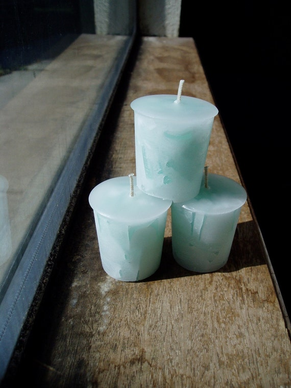 Votive Candle, Jasmine Scented Candle, Handmade Candle (1)