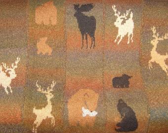 Wild Country Fireside Blanket Hand Knitting Pattern PDF
