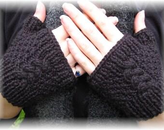 15% OFF SALE!!!  Linda Knit Fingerless Gloves
