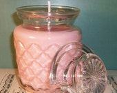 Apple and Clover Soywax Candle in Glass Jar