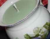 RESERVED FOR LILY-------Violet Lime Soy Wax Candle in Mini Pitcher