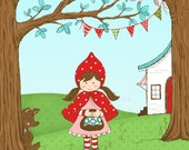 Little Red Riding Hood Illustration
