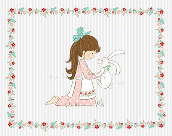 Little Spring Friend Ilustration