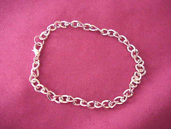 sterling Silver chain Bracelet/ necklace extender on sale
