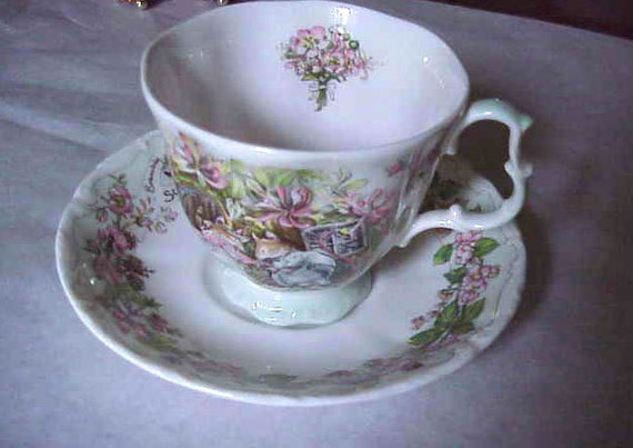 Royal Doulton Brambly Hedge Summer Tea cup and Saucer