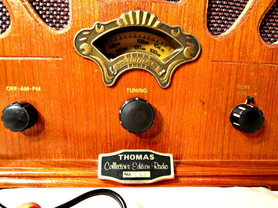 Vintage Radio Thomas Collectors Edition Reproduction From Eighties