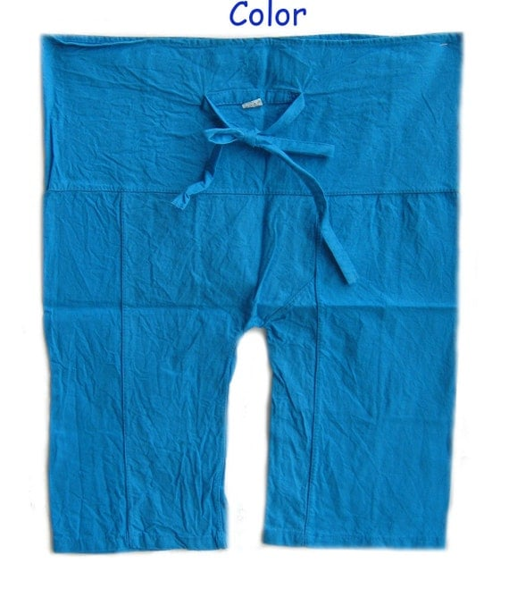 Special Prices  2 Pieces Kid's Fisherman Pants Yoga Blue  and Red Ages 1-4 National Grandparents Day