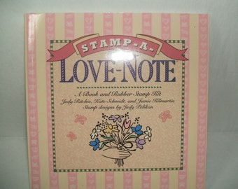 STAMP A LOVE NOTE BOOK - NO RUBBER STAMPS
