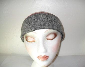 Unisex Adult Upcycled Wool Earwarmer Headband