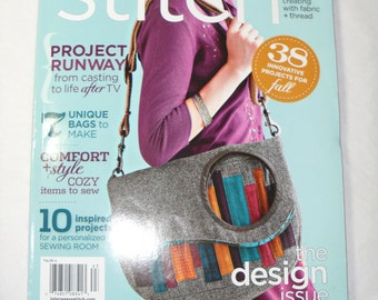 Interweave Publications, Stitch, Creating with Fabric and Thread