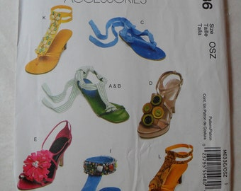 McMall's Fashion Accessories - Pattern M6336 One Size