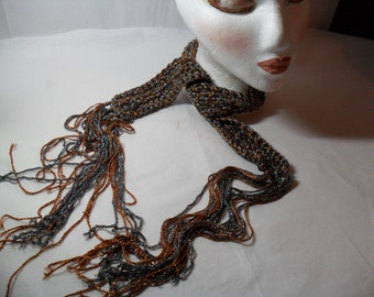 Knit Necktie  Scarf type Accessory