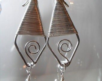 Egyptian(esque) Looking Earrings, May 2012