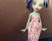 Monster High Pink Paisley Sweetheart Dress