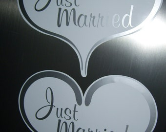 Car Magnets - Just Married