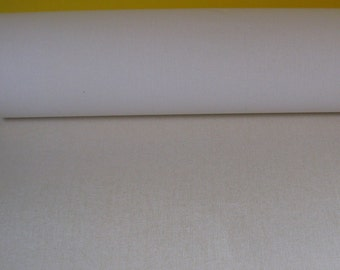 Buckram, 22-inch White LIGHTWEIGHT, Stiffening, 1 yard