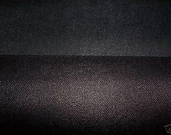 Buckram, 28- inch Black Heavy-weight Stiffening, 1 yard