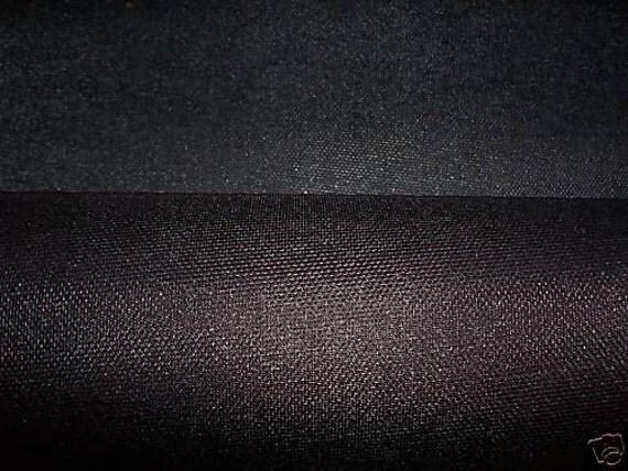 Buckram, 29- inch Black Medium-weight Stiffening, 1 yard