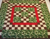 Baby Quilt - Camo Frogs