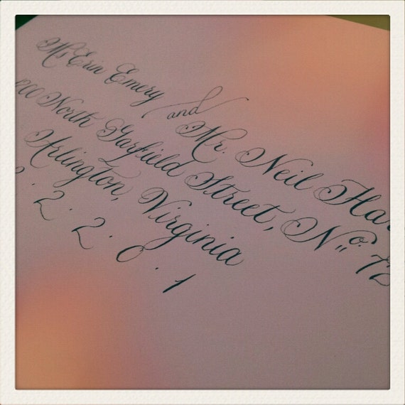 Wedding Calligraphy Sarah2 Font By Calligraphywithstyle On