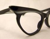 OHH la la , Rare 1950S Cateye  Layered  Eyeglasses Martin Wells Australia Smaller Face