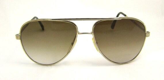 70s Aviator Sunglasses Vintage Excellent