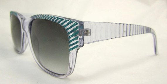 Blue 1980s 90s  Sunglasses ,, Super nice style,  Womens