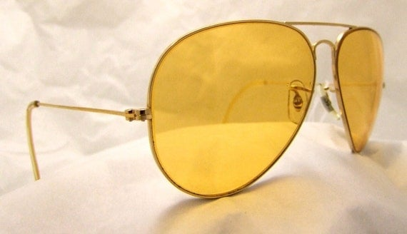 bb201c8ecbf Ray Ban Amber Shooting Glasses